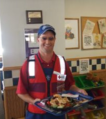 Chris Vanderheyden, Board Member, serving Culver's Customers