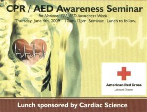 CPR-AED Seminar