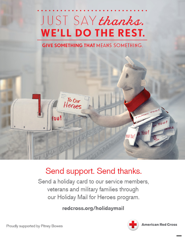 Holiday Mail for Heroes | American Red Cross Wisconsin Region