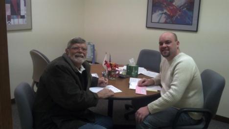 Harvey Lorenz and Nick Cluppert 2