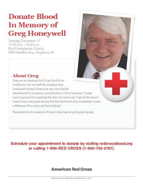 Greg Honeywell - Letter Poster