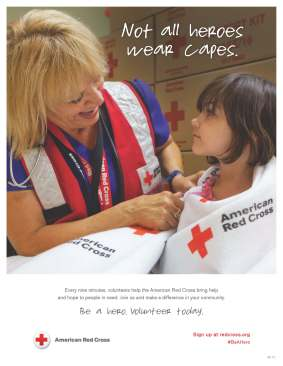 March is Red Cross Month - Volunter dat