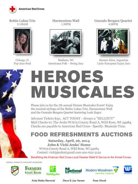 HEROES 2014 Flyer