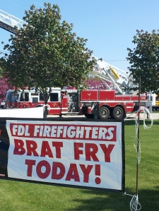 Last year the Brat fry raised $4,006.38 for local disaster relief!
