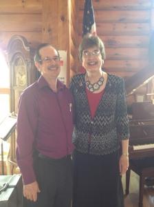 The amazing duo of John and Vicki Jenks.
