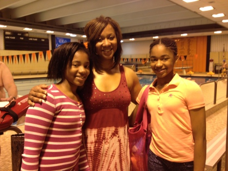 Arlena.Tasha.Taylor Cross after Swim lessons