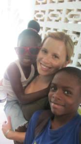 Making friends in Jamaica