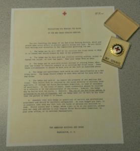 Regulations for Wearing the Badge of the Red Cross Nursing Service