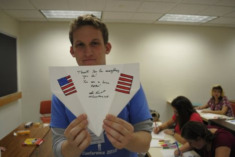 Service Leaders Conference Military Letter Writing Campaign Leader - Alex