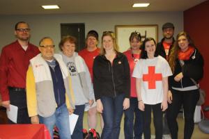 Team Racine went door-to-door to share life-saving information.