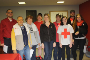 Team Racine went door-to-door to share life-saving information.