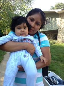 Baby Adrianna and Mom