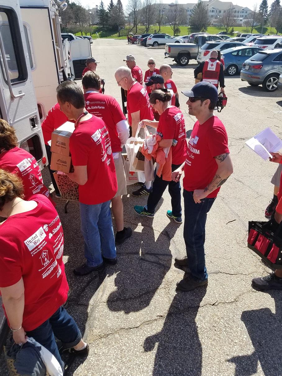 Madison STASAL volunteers prep
