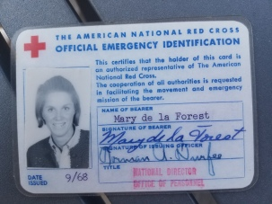Mary Evans ID card Donut Dollies